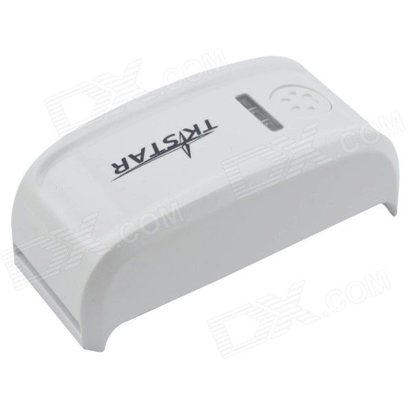 TKSTAR Mini waterdichte GSM / GPRS / GPS Tracker band voor huisdier kat / hond / varken - witte + Black