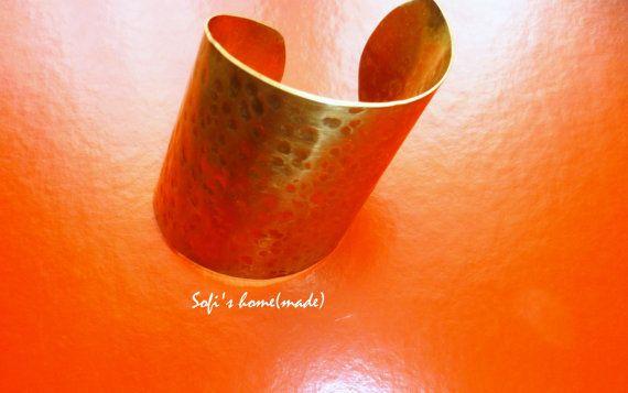 Handmade Ancient greek style brass bracelet plus free gift
