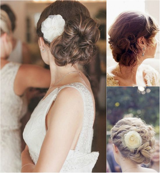 curly updo for wedding with curly real hair extensions clip on