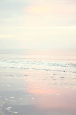 I have been at the beach many times when the light has looked like this. Blindingly beautiful and gentle.