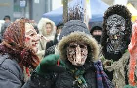 Lithuanian carnival is being held on  Tuesday before Ash Wednesday. It has to do with Uzgavenes, and it is an event where people dress up as scary characters.