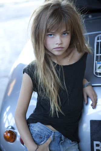 Sexualized vs. Sexual: The Case of Thylane Blondeau » Sociological Images