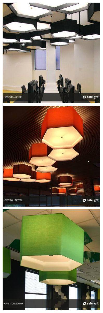 """Светильники из коллекции освещения """"Улей"""", являются эффективными как по отдельности, так и в виде массива. Tessellating - сотовые кластеры освещения могут быть легко собраны с этими современными светильниками. #светильники #светодиодныесветильники #офис #освещениеофиса #освещениевофисе #освещение #подсветка #светодиодноеосвещение #светодиоды #освещениепомещений #освещениедляофиса #идеальноеосвещение"""