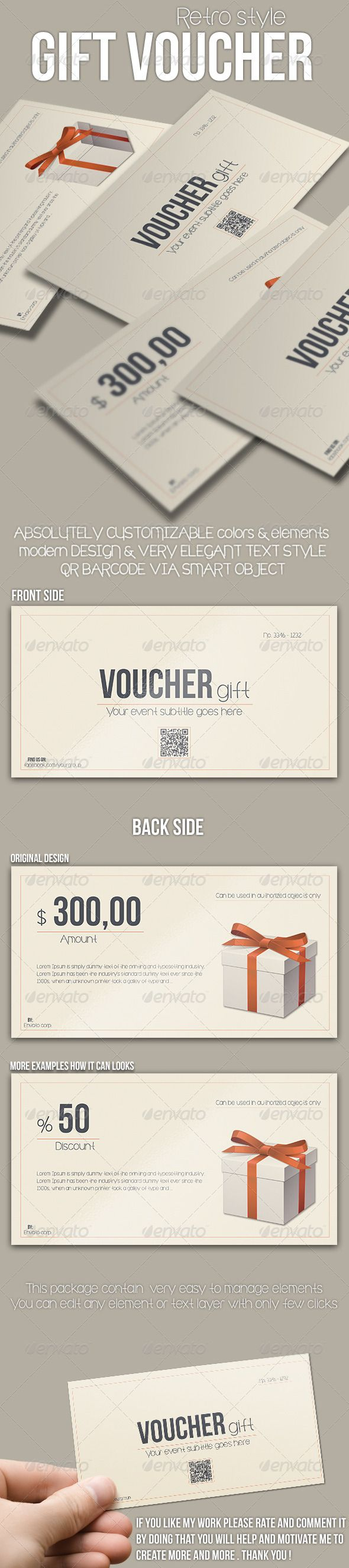 42 best Voucher Inspiration images on Pinterest | Gift cards, Gift ...