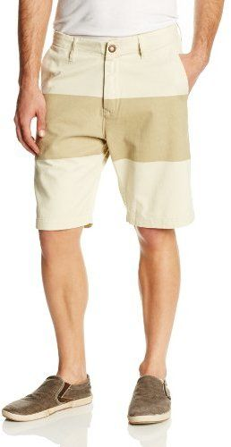$9, Volcom Faceted Printed Stripe Short. Sold by Amazon.com. Click for more info: https://lookastic.com/men/shop_items/262946/redirect