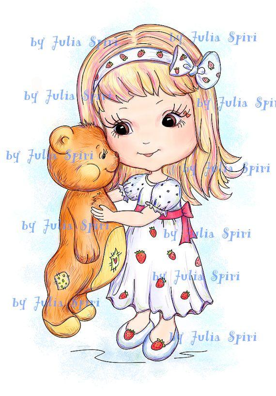 Páginas para colorear Sello Digital Ilustraciones por JuliaSpiri