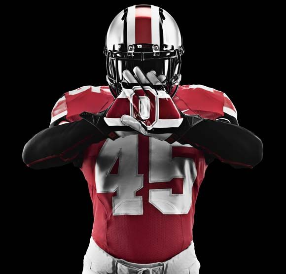 New Ohio State Football Uniform for Michigan Game 2012.