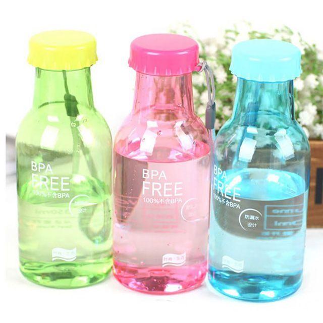 Небьющиеся Бутылки С Водой BPA БЕСПЛАТНО Подарок для семьи Спорт герметичность Бутылки 350 МЛ Открытый Бутылка Воды