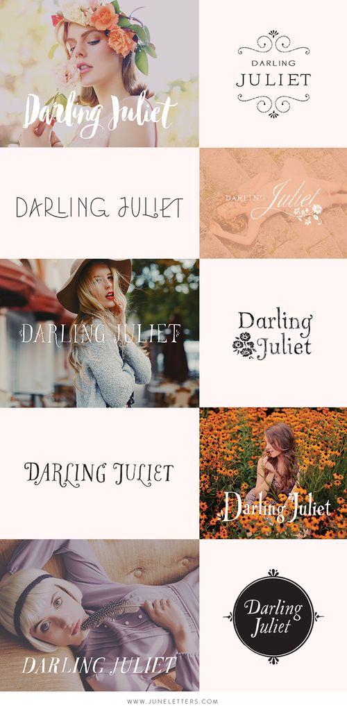 WIP: Darling Juliet Logo Design