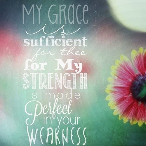 ....most gladly therefore will I rather glory in my infirmities, that the power of Christ may rest upon me!