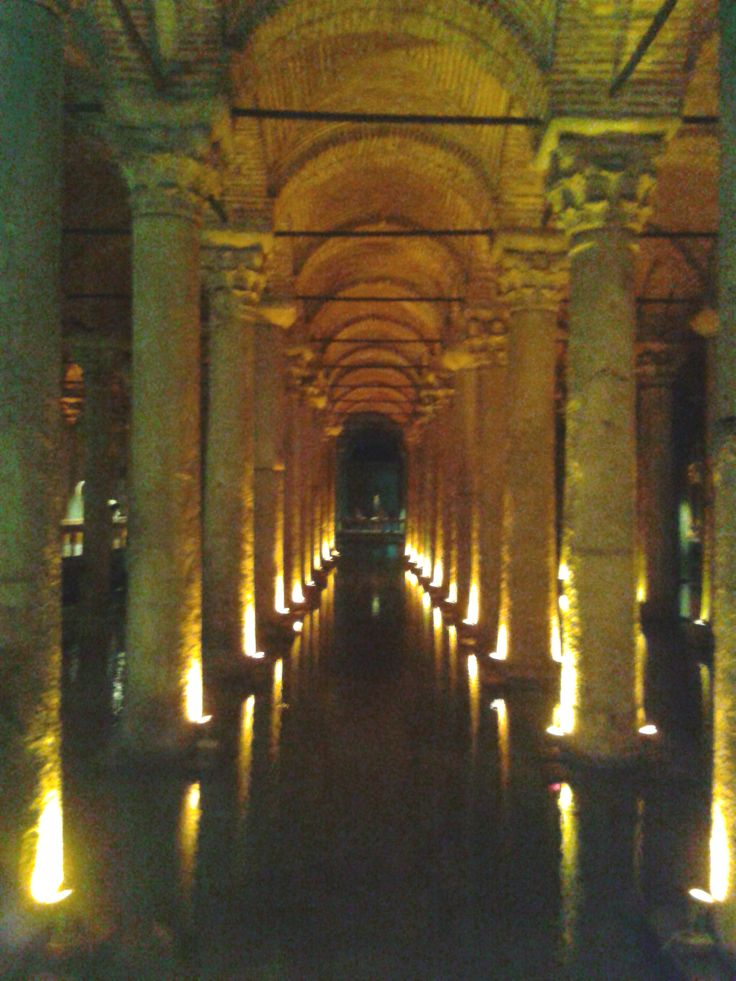 Byzantine Basilica Cistern - Istanbul
