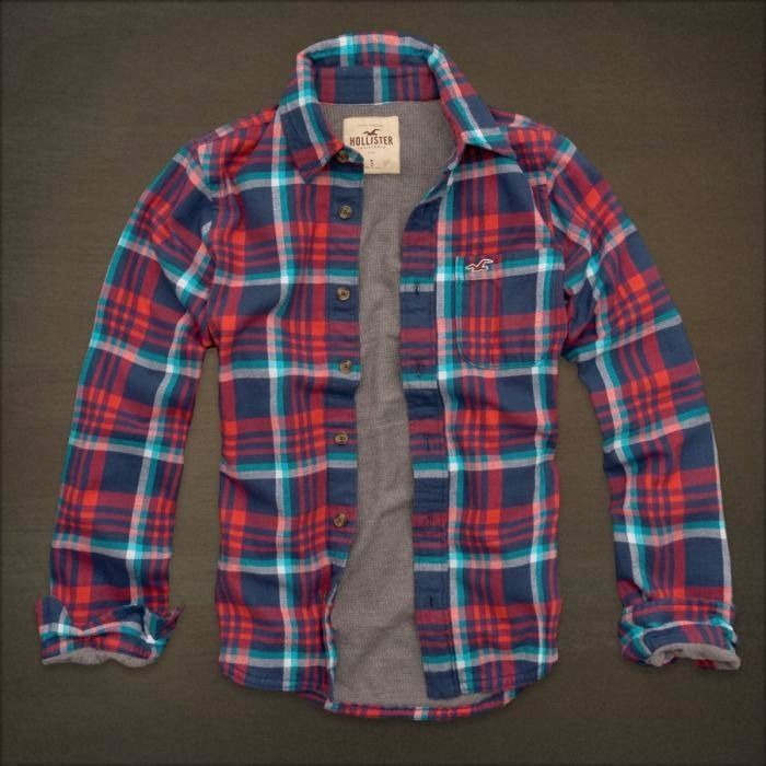hollister shirts for men blue - photo #24