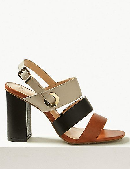 a8fdb114097f Wide Fit Multi Strap Slingback Sandals in 2019 | My shopping habit ...