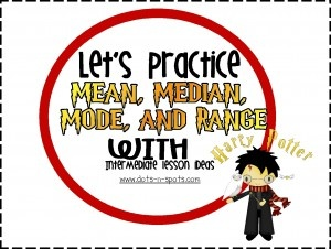 Mean, Median, and Mode with Harry Potter!