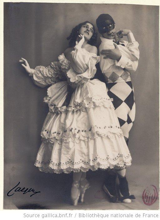 Carnaval : [Michel Fokine (Arlequin) et Vera Fokina (Colombine)] / [photographie de Jaeger]