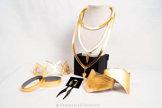KDA Evelynn cosplay earring cosplay heart