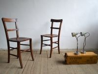 Wooden chairs with flowers - artKRAFT Industrial Interior&design