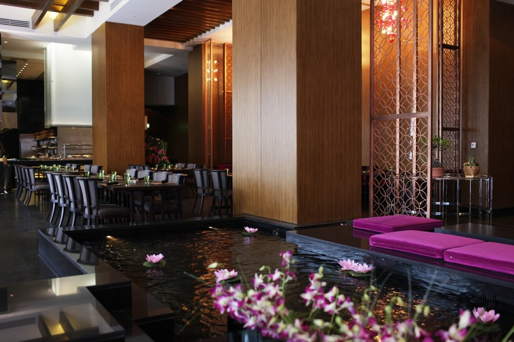 Enjoy a culinary journey through South-East Asia at Kamala Asian bar and dining restaurant at the Conrad Cairo.