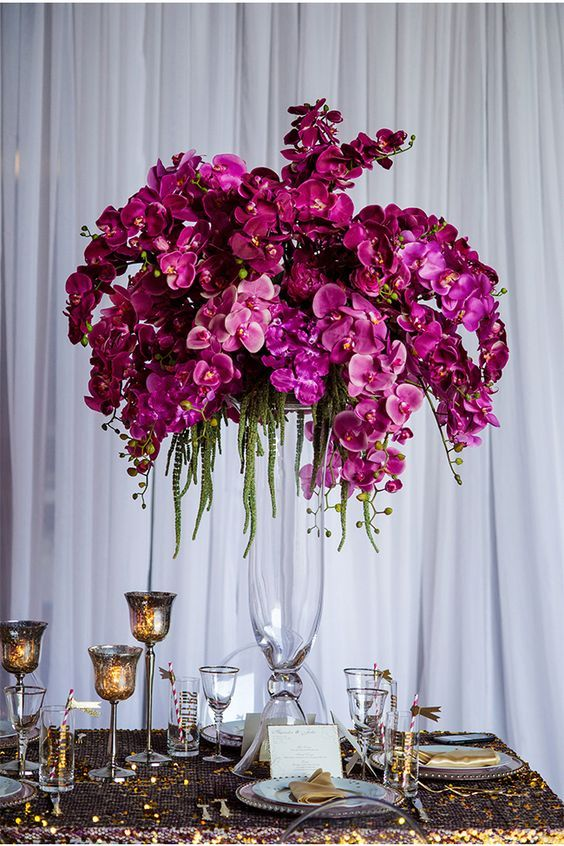 1000 Ideas About Orchid Wedding Centerpieces On Pinterest