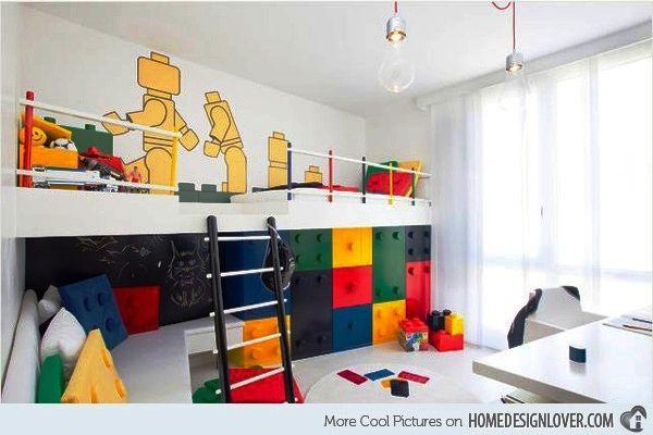 {decoração} Quartinho de Lego