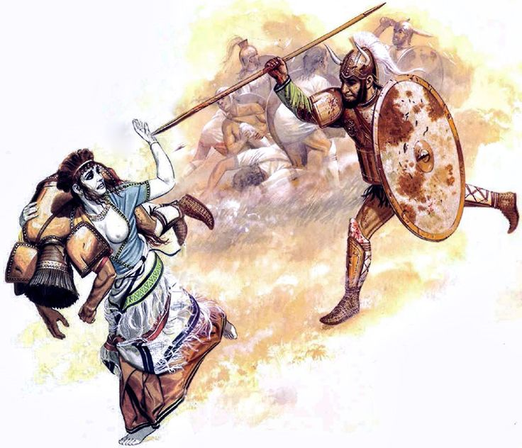Warriors Legends Of Troy Part 1: The Patriarchal Horned Helmet- With Horse-hair Plume