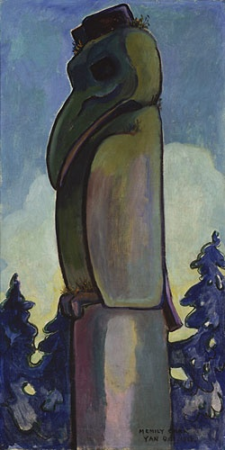 Indian Raven, Yan, 1912 - Emily Carr (Canadian, 1871-1945)