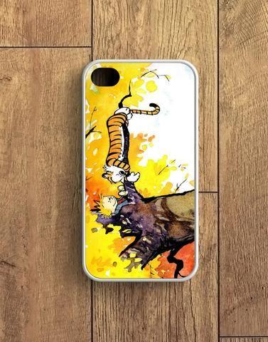 Calvin And Hobbes Sleep In Tree iPhone 4   4S Case