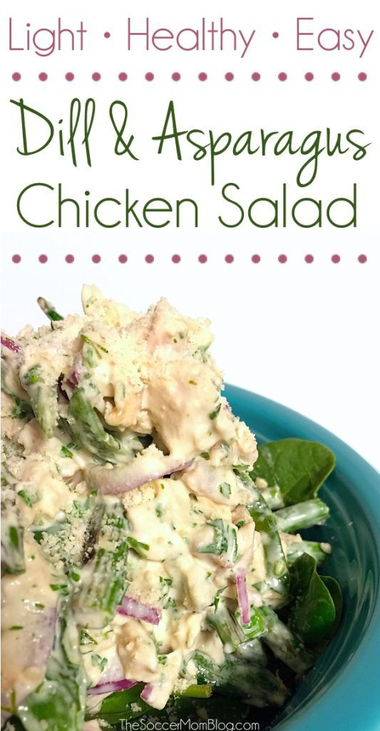 dill asparagus summer chicken salad salad chicken chicken salad ...