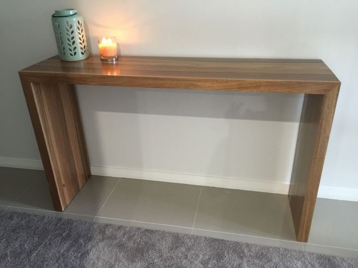 Local Made Solid Spotted Gum Hardwood Timber Hall Console Table