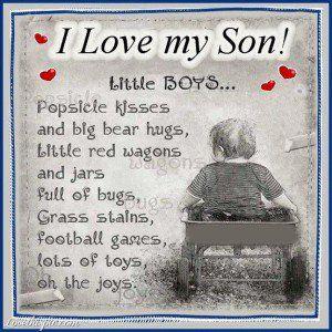 love it i love my son