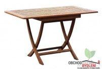 Teakový stůl SMART 120