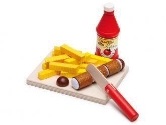 Sausage Set, Erzi, €25