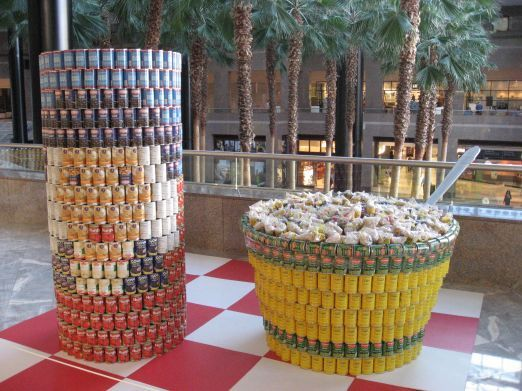 59 Best Canstruction 174 Examples From Around The Globe