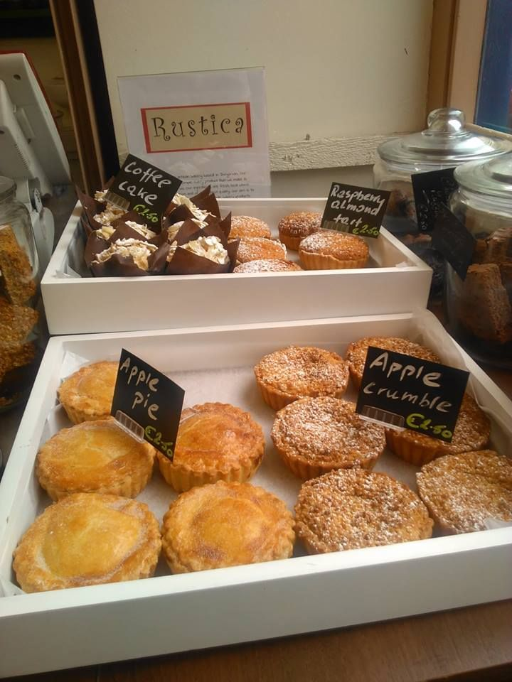 Some delicious cakes made by local, bakery Rustica. They are delicious! #buylocal