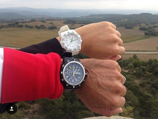 When planning an adventure, two #Luminox watches are better than one. This is why when @joieriacliment1890 and friend went cycling in Puig-reig, #Barcelona, they took along their #Navy SEAL 3057.WO and Recon 8841. Does your Luminox have a perfect match this #TimepieceTuesday? #Spain #cycling #watchesofinstagram