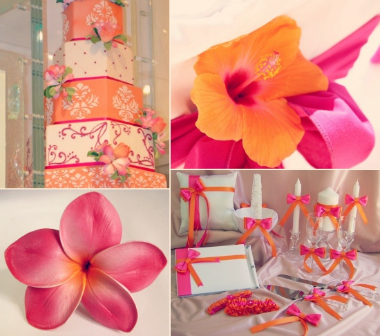 Pink and Orange Wedding Theme168 best Hot Pink   Orange Wedding Inspirations images on  . Orange And Lime Green Wedding Theme. Home Design Ideas