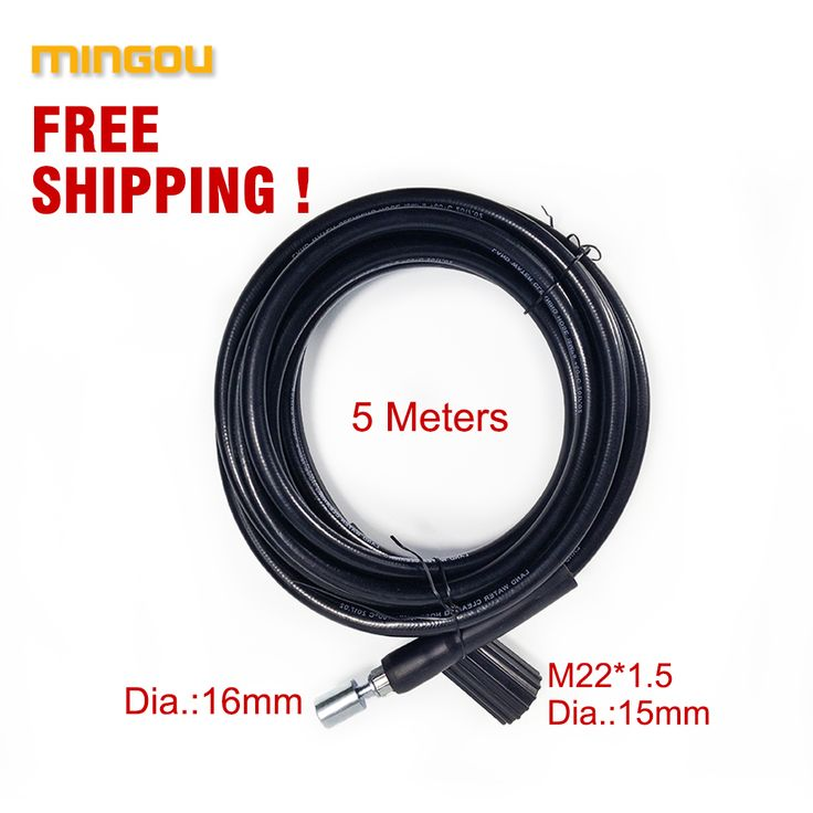 10 Meters Quick Connect With Car Washer Gun High Pressure Washer Hose