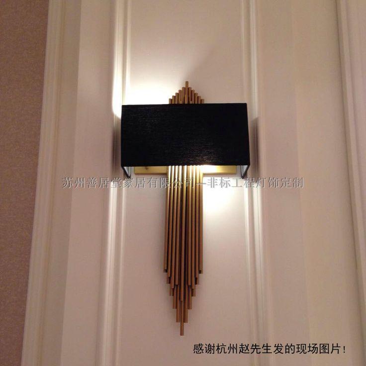 RuBao.Ru - Товары из Китая по низким ценам  - Шанхай новый китайский стиль атмосфера магазин орган труба творческий настенный светильник может место отели настенный светильник дизайнер сделанный на заказ настенный светильник