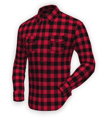 Red flannel checked Shirt http://www.tailor4less.com/en-us/men/shirts/2403-red-flannel-checked-shirt