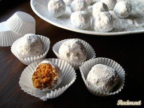 Рецепт Ореховые конфеты своими руками. Приготовление   блюда