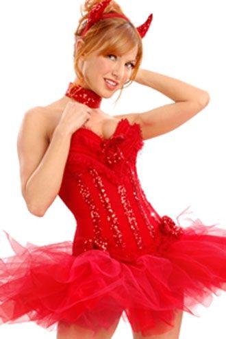 Veja mais informações de Fantasia Diabinha Super Luxo