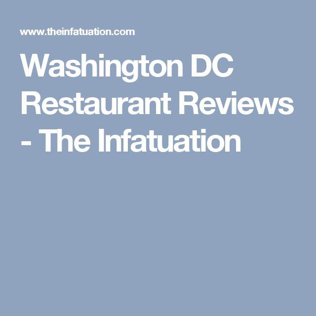 Washington DC Restaurant Reviews - The Infatuation
