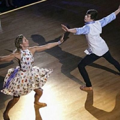 Dancing With the Stars  -  Emma Slater & Hayes Grier  -  Season 21  -  fall 2015