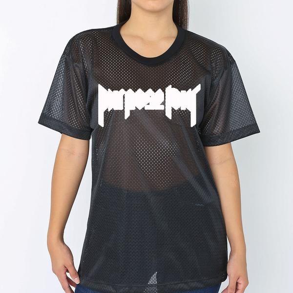 Purpose Tour Black Athletic Mesh Short Sleeve t-shirt - Bieber 6