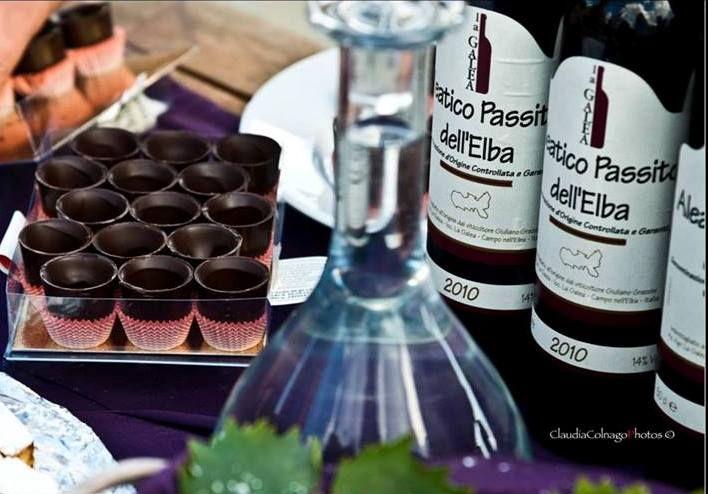 Aleatico La Galea e cioccolato