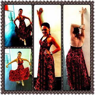 Silvia Unger Salsa-Emocion My new espeki-Summer dress.... Love it... Bin thank you to Espeki & Esra Peruze Kızıltuğ