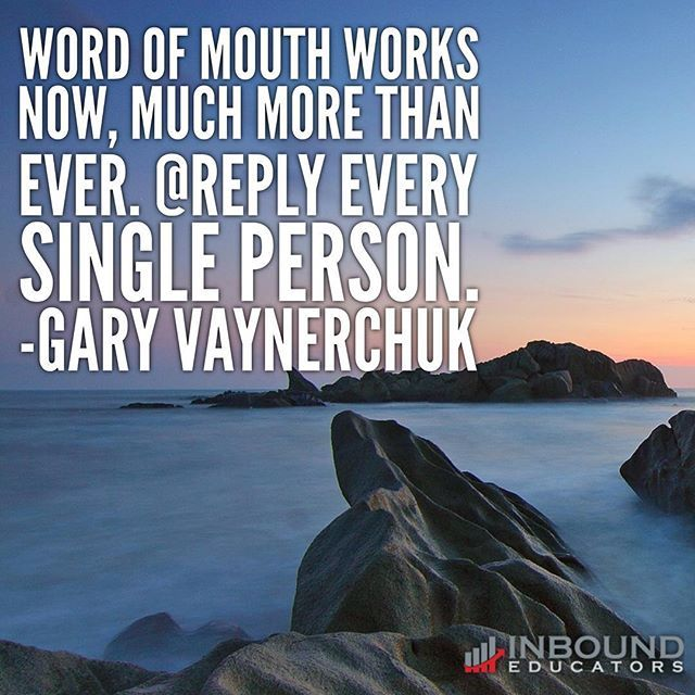 Today word of mouth is more powerful than ever!