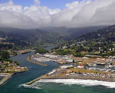 Driftwood RV Park - Brookings-Harbor, Oregon. We stay here a lot and love it!