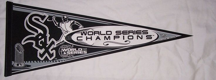 Chicago White Sox Pennant (2005 World Series Champions Edition)