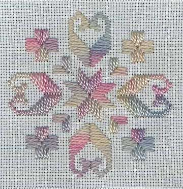 "Kid's Corner - Monthly Project (pattern from ""Easing into Hardanger"" by Mary Hickmott)"